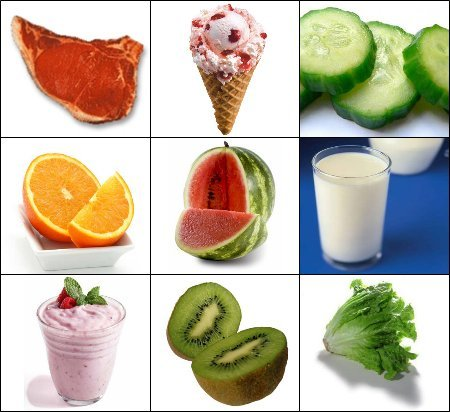Adivina adivinanza: ¿qué alimento tiene más agua?
