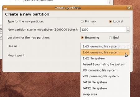 ext4 en Ubuntu 9.04