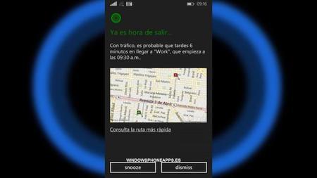 El primer avistamiento de Cortana hablando español alienta los rumores sobre su cercanía