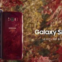 El Samsung Galaxy S8 en color rojo oscuro se pone a la venta en Corea y luce espectacular