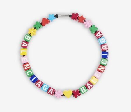 Balenciaga Collar Dados Colores
