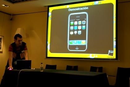 Presentación del iPhone en la Fnac Zaragoza, hemos estado