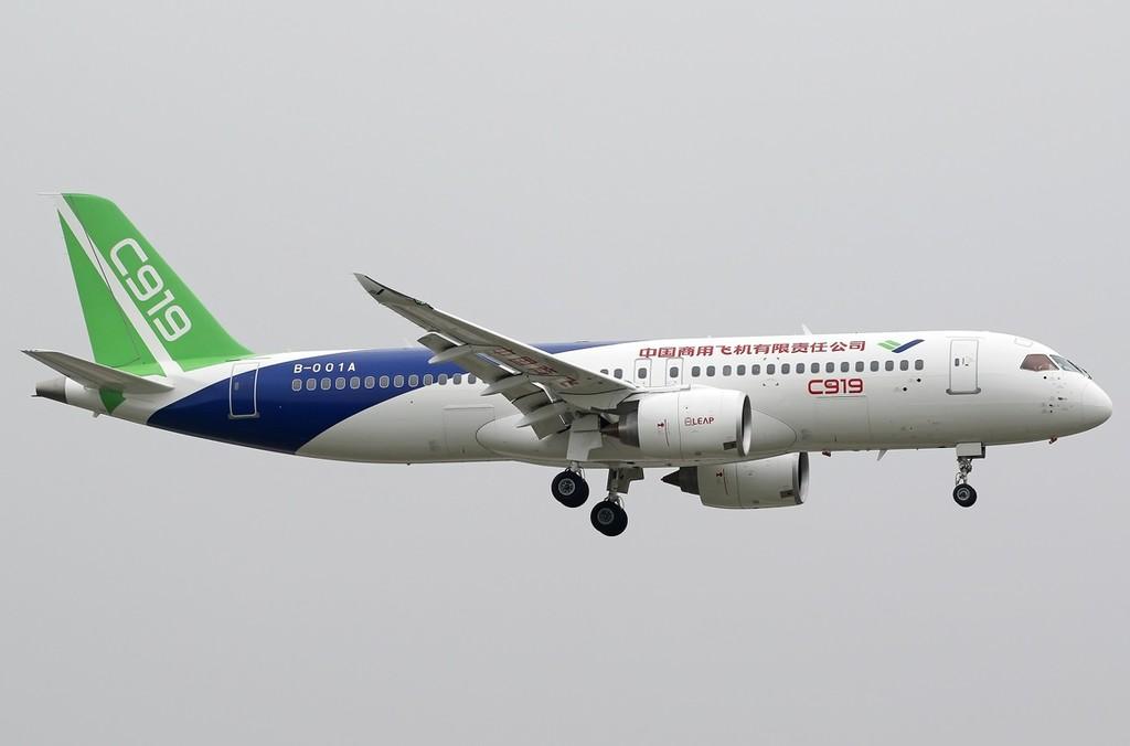 Una investigación acusa a China de haberse valido del ciberespionaje para construir su avión Comac C919