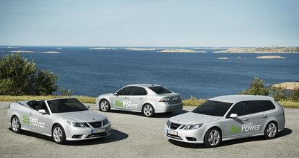 La gama Saab Aero recibirá motorizaciones flexibles en 2009