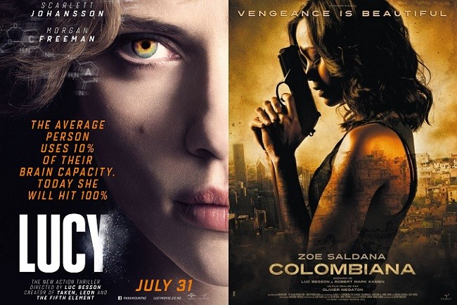 Lucy y Colombiana