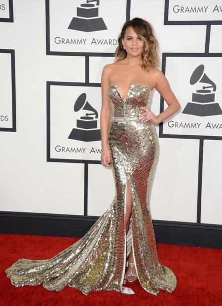 Christine Teigen Peor Grammy 2014