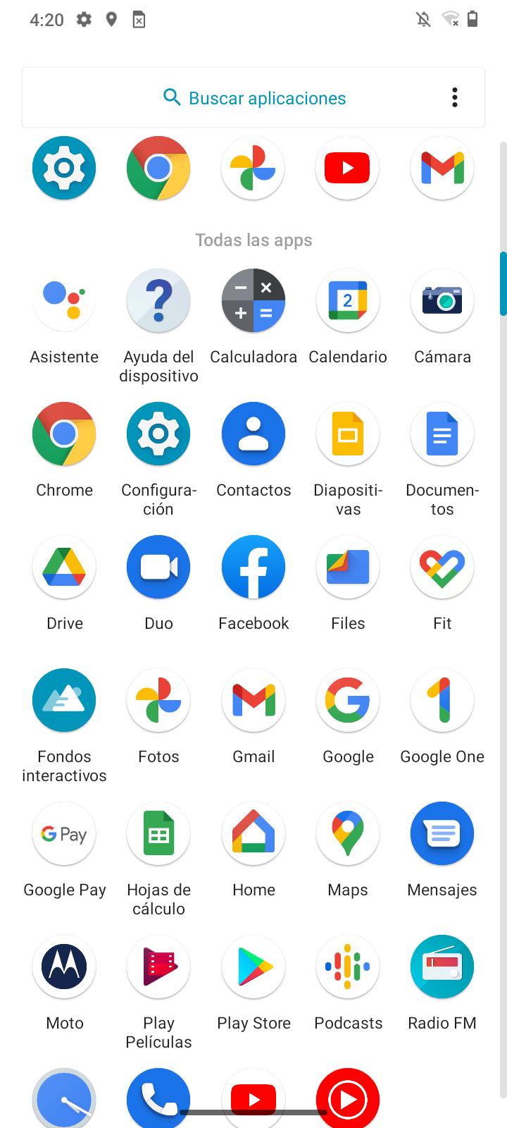 Foto de Android 11 + Moto App Launcher (4/25)