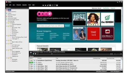 Odeo prepara Odeo Media Player, o su relanzamiento sobre FireAnt