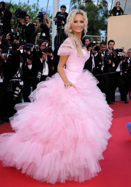 Adriana Karembeu Festival de Cannes peor vestidas