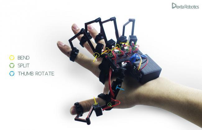 Dexmo es un guante que nos permite tocar y sentir objetos virtuales