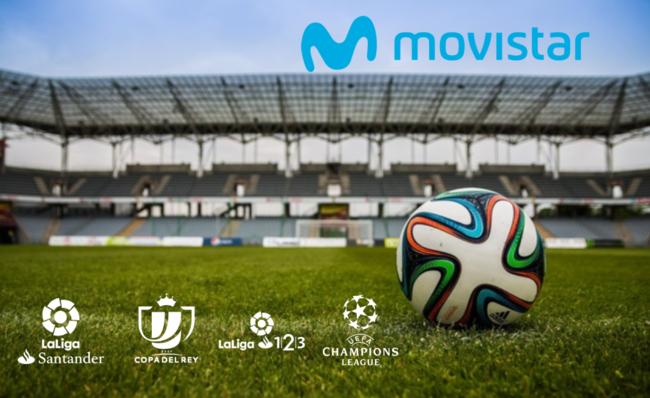 Movistar flexibiliza su oferta con nuevas tarifas Fusión para poder ver fútbol desde 65 euros y añade más canales