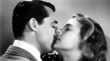 Cary Grant y Ingrid Bergman en