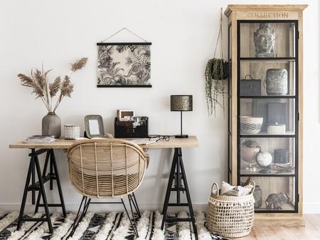 Decoración para el hogar: ¿Prefieres el metal o las fibras naturales?