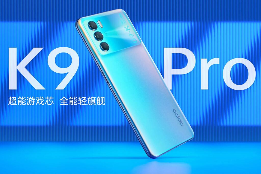 OPPO K9 Pro: 120 Hz, más RAM y Dimensity 1200 para el nuevo gama alta de OPPO
