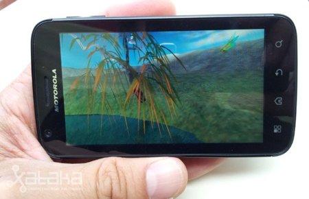 Motorola Atrix, análisis (III). Imagen, sonido y rendimiento
