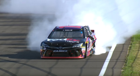 NASCAR quiere limitar los 'burnout' de las celebraciones post victoria