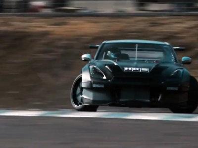 Un Nissan GT-R R35 de 1.000 CV, ¡para drift!