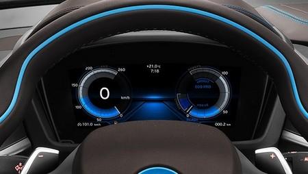 Los distintos modos de conducción que se pueden seleccionar en el BMW i8