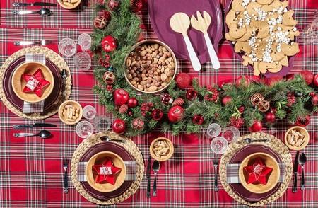 Buffet Sueco Julbord Decoracion Escocesa