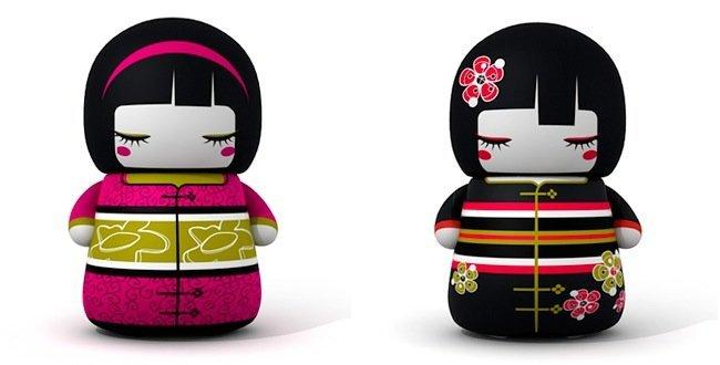 Memorias Kokeshi Dolls