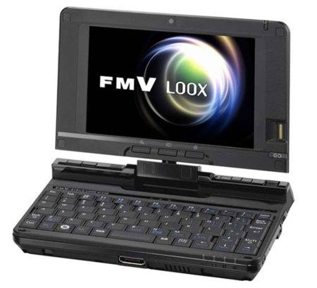 Fujitsu Loox U, con procesador Atom