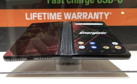 Energizer Power Max P8100s Smartphone Flexible Mwc 2019