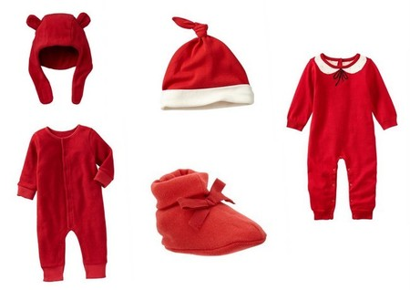 ropa fiesta bebés navidad
