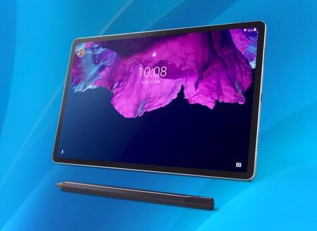 Lenovo Tab P11: una estilizada tablet con cuerpo de aluminio, pantalla 2K y el nuevo modo para niños de Google