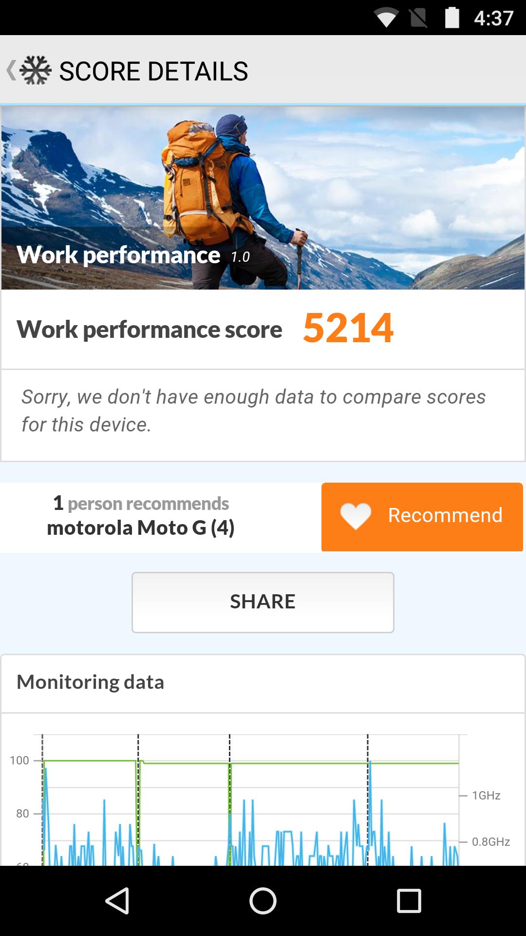 Foto de Moto G4, benchmarks (1/30)