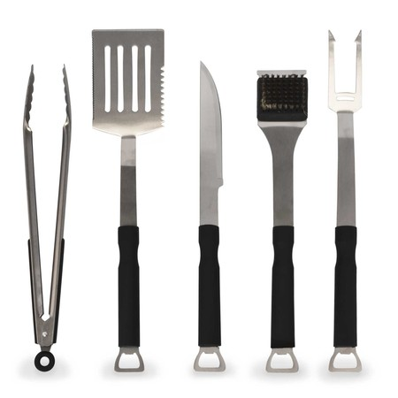 Oferta flash Amazon: 5 Utensilios para barbacoa por sólo 18,04 euros