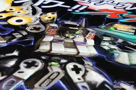 Imagen de la semana: atípico duelo entre SNES y Megadrive