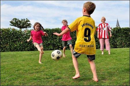 El deporte sano para niños sanos