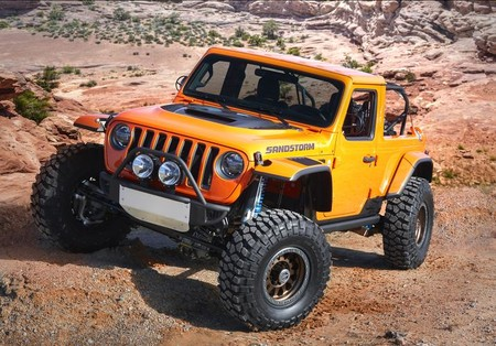 Jeep R Sandstorm Concept