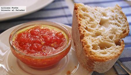 Pan con tomate en El Machi, Santander