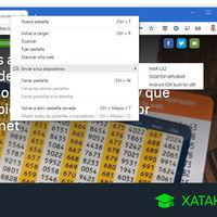 Cómo enviar páginas web del PC al móvil (y al revés) con Google Chrome