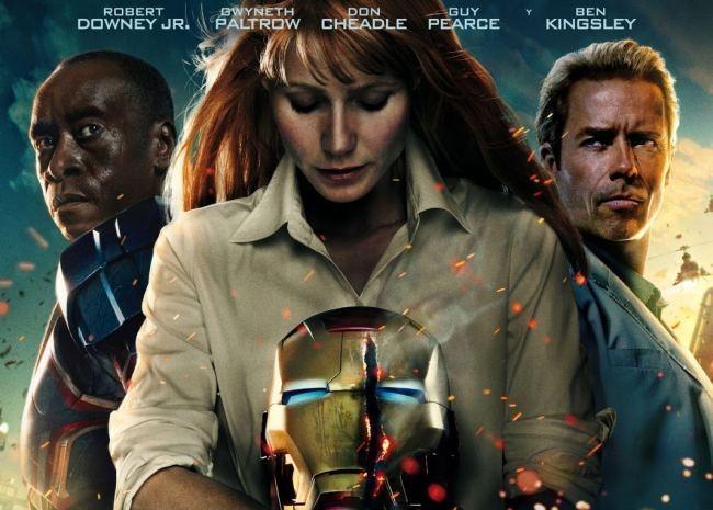 Un cartel de Iron Man 3