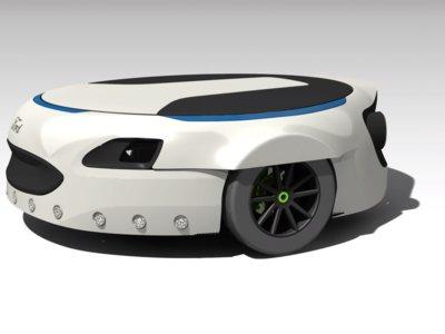 Carr-E parece una rueda de repuesto, pero te lleva al trabajo (y es un invento más de los empleados de Ford)