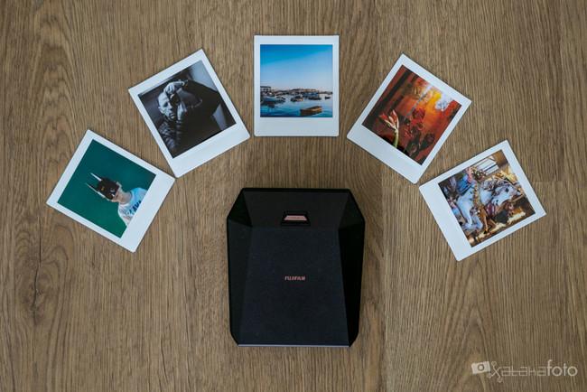 Fujifilm Instax Share SP-3 SQ, análisis: una impresora pequeña para fotos cuadradas que resulta muy adictiva