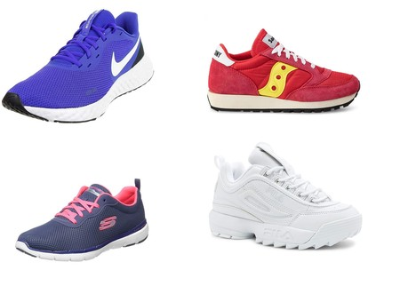 Ofertas en tallas sueltas de zapatillas Nike, Saucony o Fila rebajadas en Amazon
