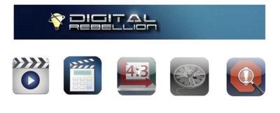 Cinco aplicaciones de Digital Rebellion para editores de vídeo