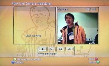 Imágenes de la webcam para XBox360