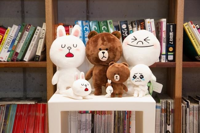 line peluches