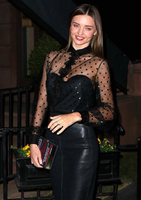 Miranda Kerr look pre met