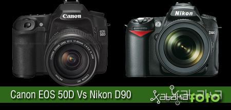 Canon EOS 50D Vs Nikon D90, primeras comparaciones