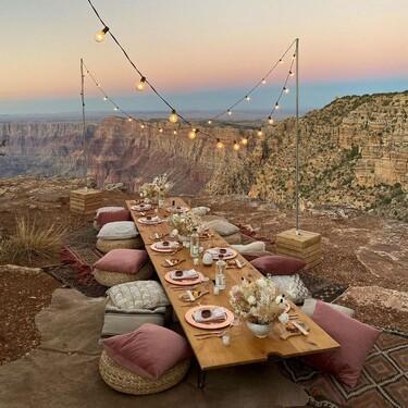Cinco mesas plegables ideales para improvisar una cena en la terraza, el jardín o en cualquier otra parte