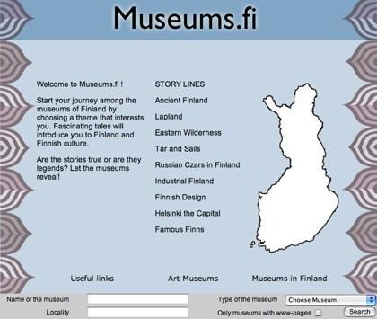 Todos los museos de Finlandia