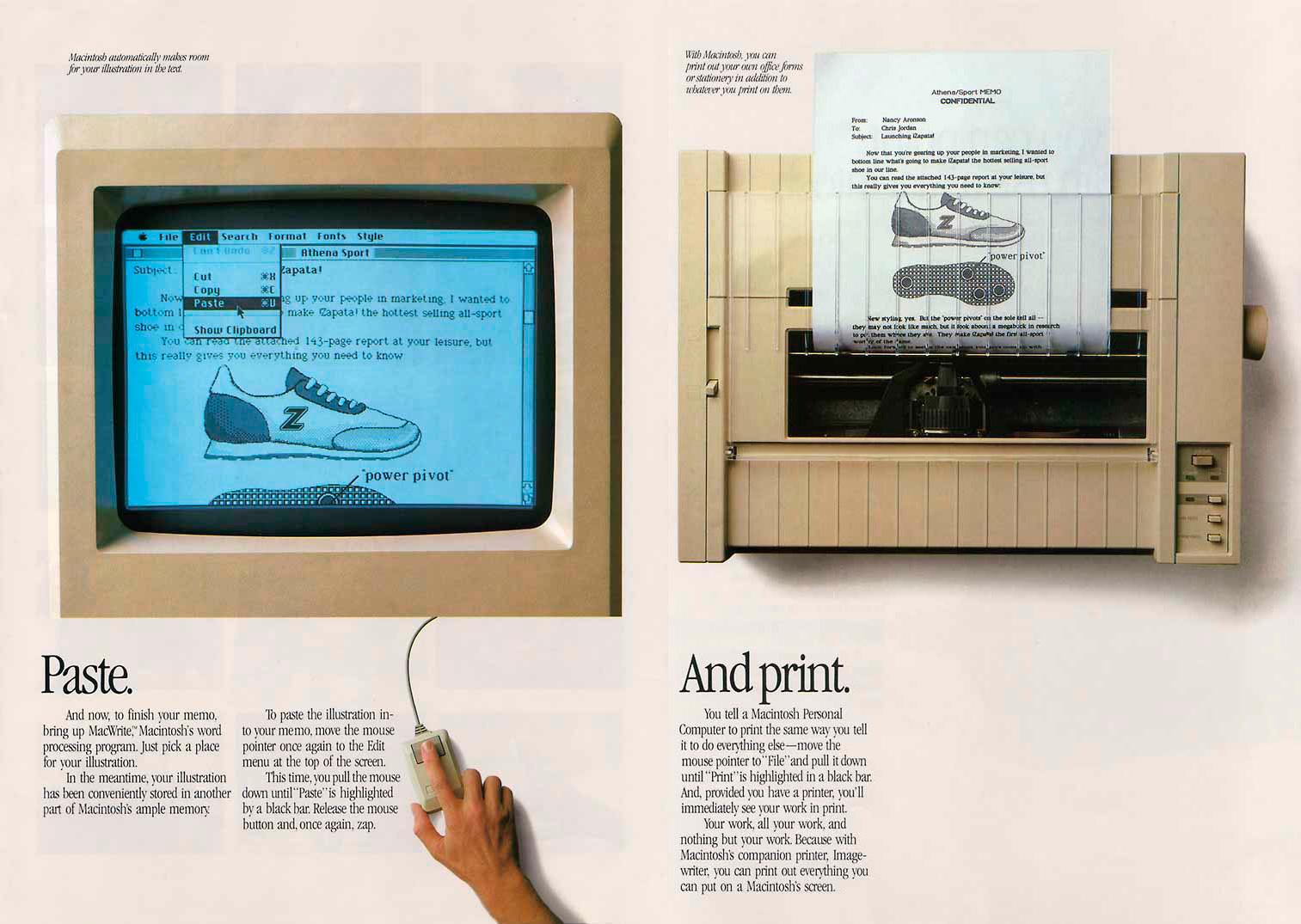 Foto de Presentación del Macintosh en Newsweek (5/11)