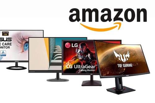 17 monitores de PC de AOC, ASUS, BenQ, MSI, Lenovo, Philips o Samsung con los que ahorrar adelantando tus compras al Black Friday en Amazon