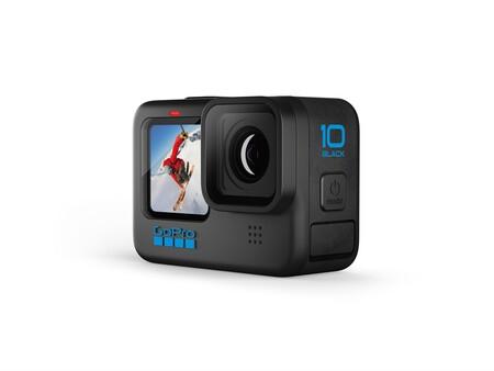 GoPro HERO10 Black: la cámara de acción de GoPro más poderosa hasta ahora, con nuevo chip GP2 para grabar video 5.3K a 60 fps
