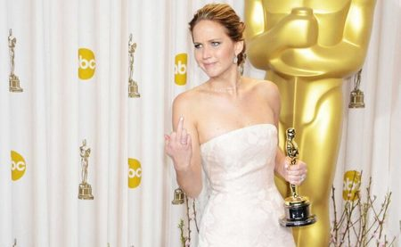 A Jennifer Lawrence no le gustó la actitud o la pregunta de un periodista